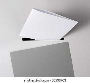 Close up of a ballot box with a white ballot-paper