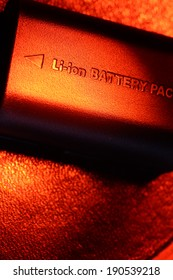 Close up of a battery pack