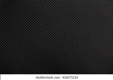Close up of black textured synthetical backgroun