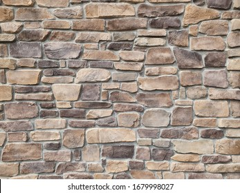 Close up block wall texture