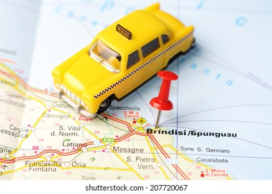 Brindisi Map Images Stock Photos Vectors Shutterstock