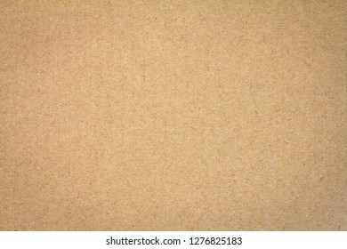 Close up brown cardboard texture background