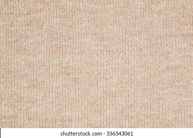 Close up the Brown knitting wool texture background.