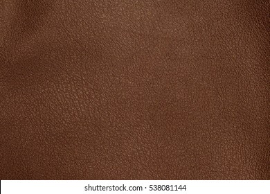 Close up of brown leather background or texture