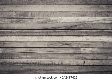 Close up of brown wooden fence panels