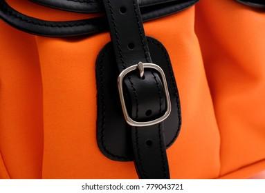 Close up buckle bag