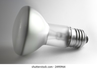 Close up of a bulb with edison screw type fitting