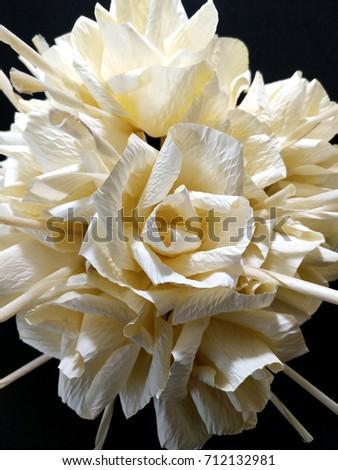 Close bunch paper flowers dok mai stock photo edit now 712132981 close up of a bunch of paper flowers dok mai chan thai name of mightylinksfo