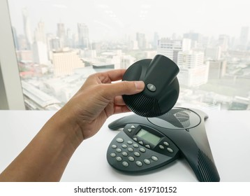 Ip Conference Room Phones Stock Photos Images Photography