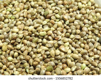 A close up of cannabis/marijuana/weed seeds. Cannabis  also known as marijuana among other names, is a psychoactive drug from the Cannabis plant used for medical or recreational purposes..