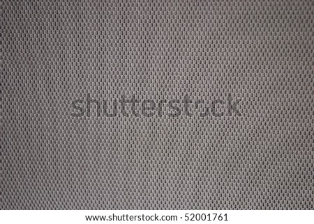 Close Up Of Car Seat Fabric Texture