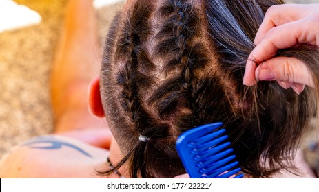 African Lady Hair Style Hd Stock Images Shutterstock