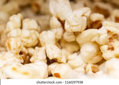 Close up Cheese popcorn