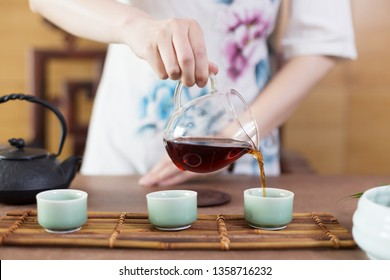 close up of chinese tea