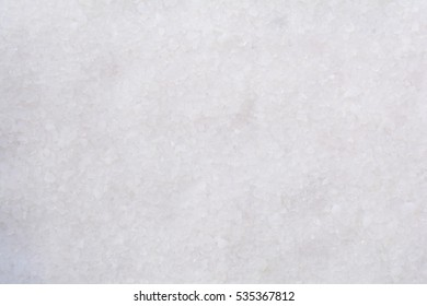 Close up clean clear white silica crystal cat litter for kitten pet in house can be use as background.