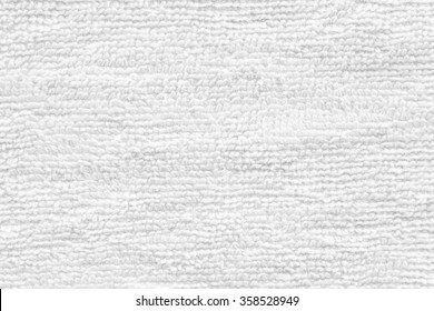 Close - up Clean white towel texture and seamless background