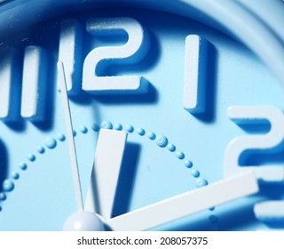 Close up of an clock face