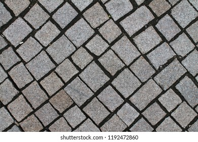 Close up of cobble stone ways