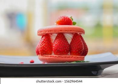 close up cof a cake