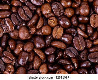 close up of coffee beans, great for backgrounds and presentations