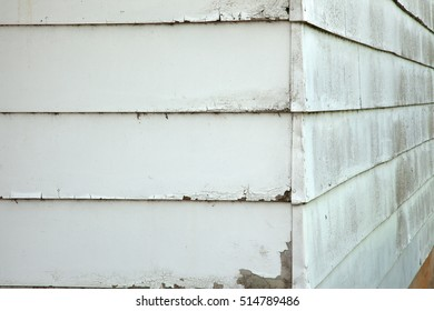 A close up of the corner of a building.