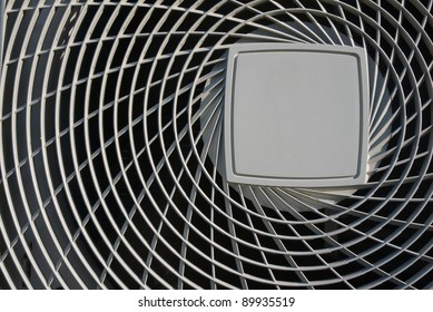 close up cover of air condenser