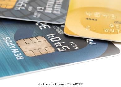 Close Up Credit Card