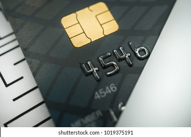 Close up of credit card image using as background shopping online, money, finance, business concept.