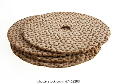 close up of crispbread