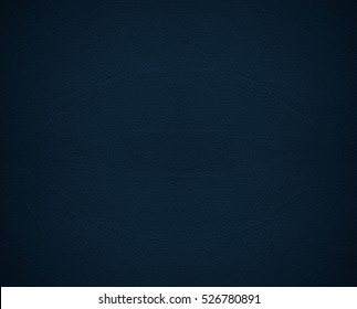 Close up of dark blue leather texture seamless background