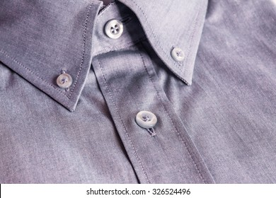 Close - up Detail check shirt fabric pattern and background