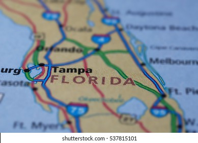 Detail Map Of Florida.North Florida Map Images Stock Photos Vectors Shutterstock