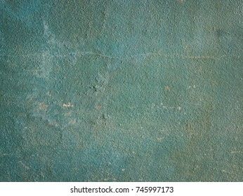 Close up dirty green cement concrete wall texture background