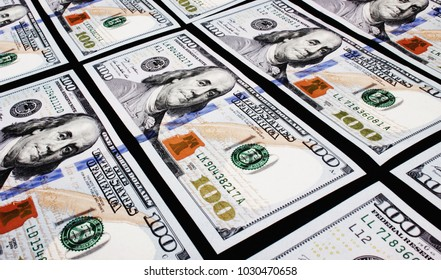 close up of dollar bill background as a symbol of wealth, success and business