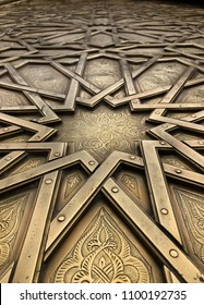 Close up of a door I came across in Morocco