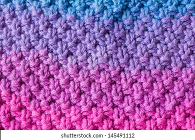 Double Moss Knit Stitch Pattern Images, Stock Photos
