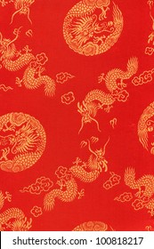 Close up of Dragon Textile.