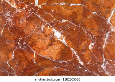 Close up of Emperador dark marble texture
