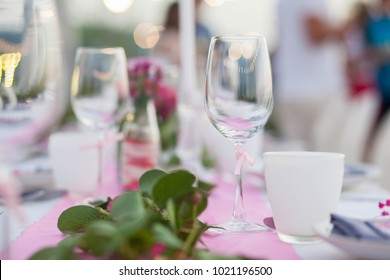 Close up empty glass set on the table restaurant & Set Table Images Stock Photos u0026 Vectors | Shutterstock