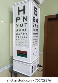 close eye test machine