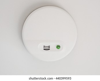 Close up of a fire alarm