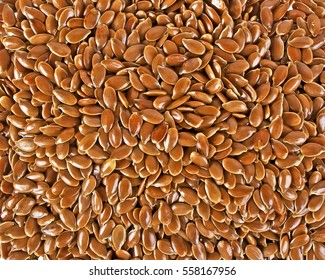 Close up of flax seeds, as background