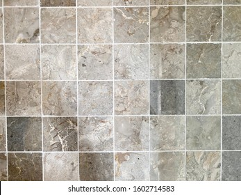 Close up Floor of Stone Tiles