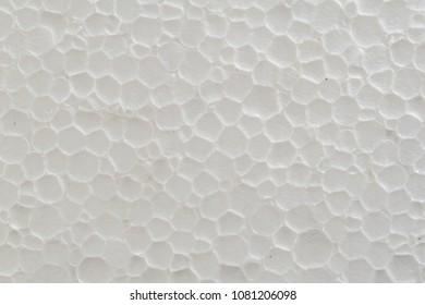 Close up of foam sheet texture background