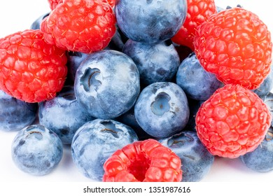 close up of fresh blueberries as background
