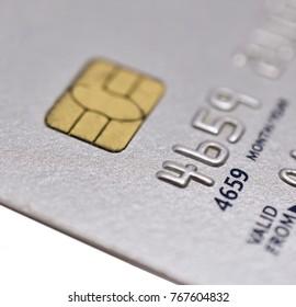 Close Up of Generic Credit Card