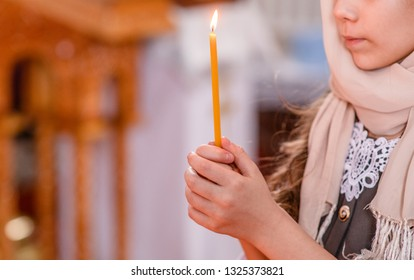 Girl Church Candle Images, Stock Photos & Vectors | Shutterstock