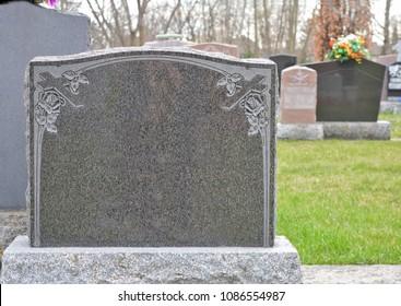 Blank Headstone Images Stock Photos Amp Vectors Shutterstock