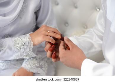 Muslim Wedding Hands Images Stock Photos Vectors Shutterstock