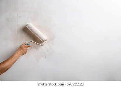 Wall Painting Tools Images Stock Photos Vectors Shutterstock